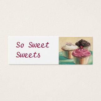 So Sweet Cupcakes Mini Business Card