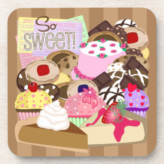 So Sweet Desserts Coasters