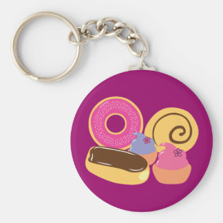 So Sweet Desserts Keychain