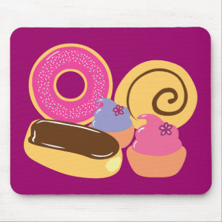 So Sweet Desserts Mouse Pad