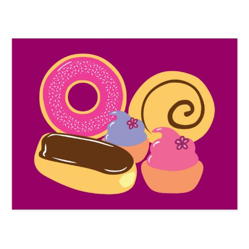 So Sweet Desserts Post Card