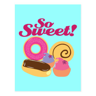 So Sweet Desserts Postcard