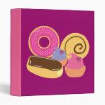 So Sweet Desserts Vinyl Binders