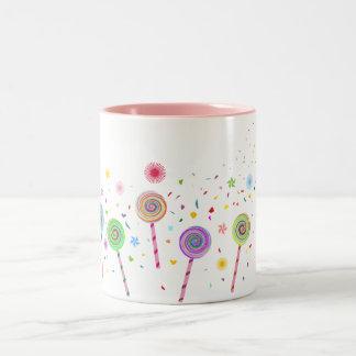 So Sweet (Lollypop) A1 Two-Tone Coffee Mug