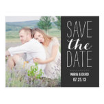 SO SWEET | SAVE THE DATE ANNOUNCEMENT POSTCARD