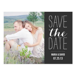 SO SWEET | SAVE THE DATE ANNOUNCEMENT POSTCARDS