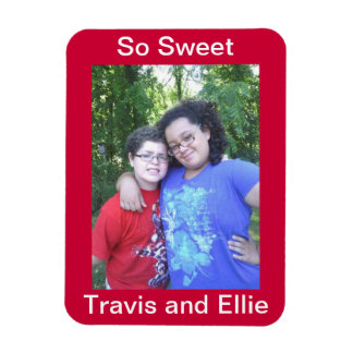 So Sweet Travis and Ellie magnet
