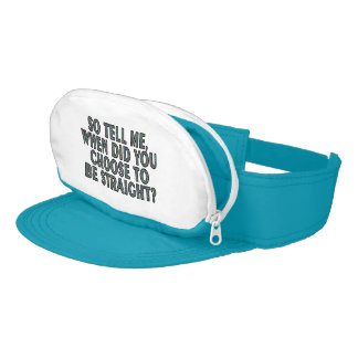 So tell me, when did you CHOOSE to be straight? Visor
