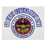 So That Others May Live - Coast Guard Rescue Poster
