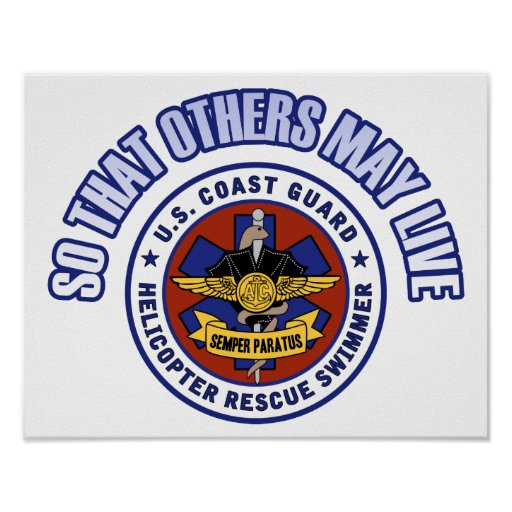 So That Others May Live - Coast Guard Rescue Posters
