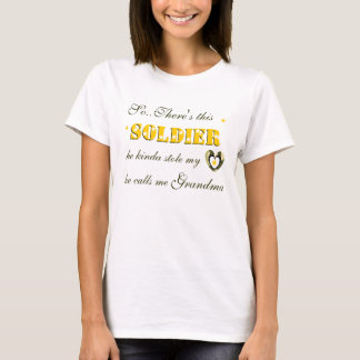SO..THERES THIS SOLDIER T-SHIRT
