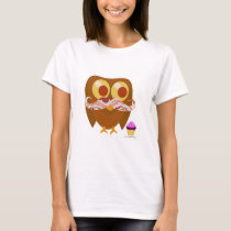 So Trendy Bacon Owl T-Shirt