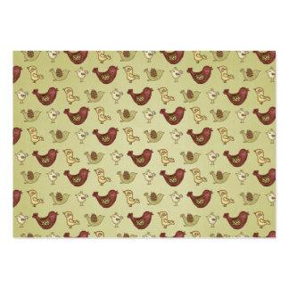 So Tweet Birds Cute Large Business Card