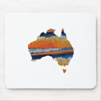 SO VAST AUSTRALIA MOUSE PAD