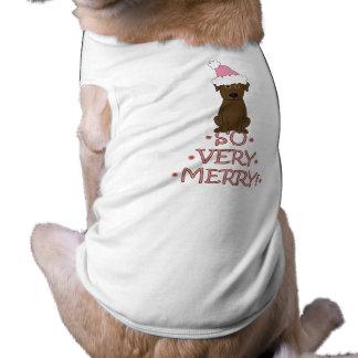 SO VERY MERRY! Chocolate Lab Christmas Shirt
