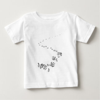 So We Go Dancing Rabbits Baby T-Shirt