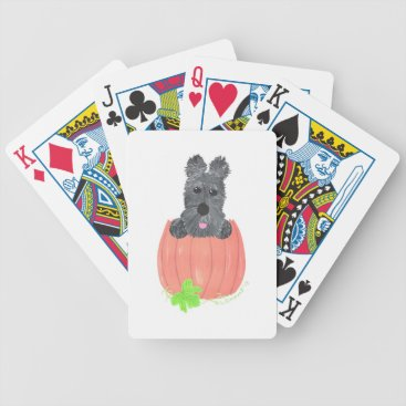 Halloween Themed So Where's The Pie? Bicycle Playing Cards