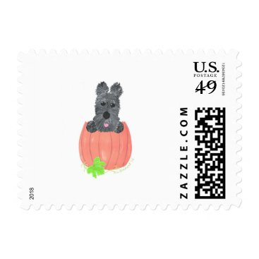 Halloween Themed So Where's The Pie? Postage