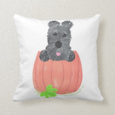 Halloween Themed So Where's The Pie? Throw Pillow