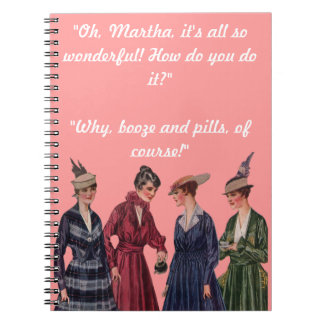 So Wonderful Notebook Spiral Notebooks