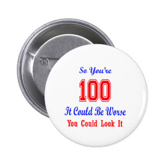 So you are 100 2 inch round button