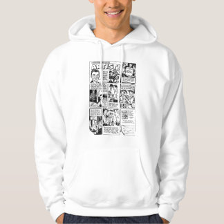 So You Want to be an Artist Vintage Ad Hoodie