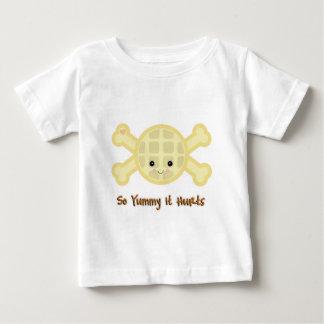 so yummy it hurts waffle baby T-Shirt