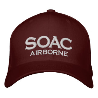 SOAC 1 EMBROIDERED BASEBALL CAP