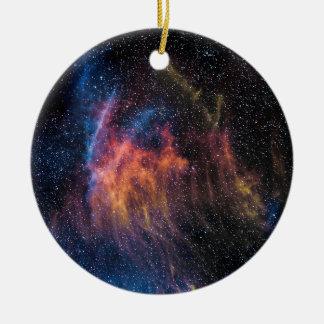 Soace Nebula Ceramic Ornament