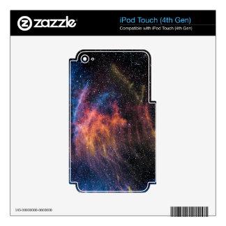 Soace Nebula Skin For iPod Touch 4G