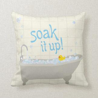"""Soak It Up Throw Pillow 20"""" x 20"""""""