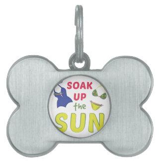 Soak Sun Pet ID Tag