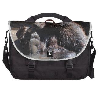 Soaking Bear Laptop Computer Bag