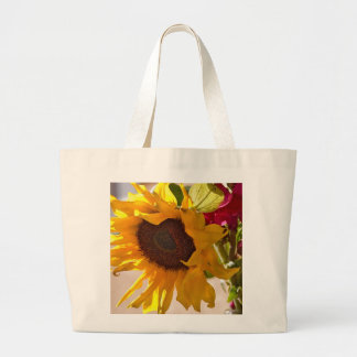 Soaking Up Some Sunflower Canvas Bag