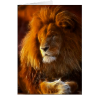 Soaking Up the Sun, King of the Jungle Lion II Card