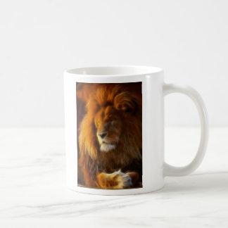 Soaking Up the Sun, King of the Jungle Lion II Coffee Mug