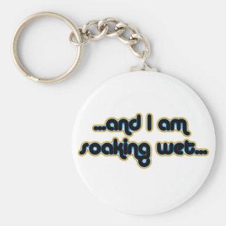 Soaking Wet Iceglow Basic Round Button Keychain