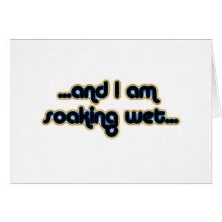 Soaking Wet Iceglow Greeting Card