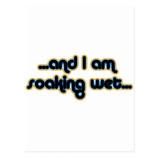 Soaking Wet Iceglow Postcard