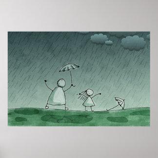 Soaking Wet Poster