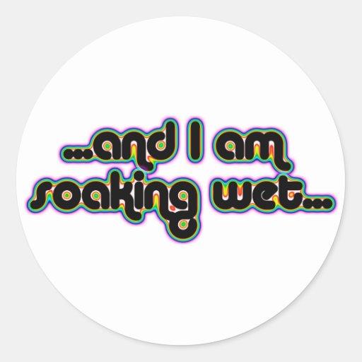 Soaking Wet Rainglow Sticker