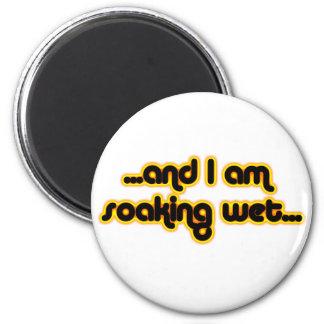 Soaking Wet Sunglow 2 Inch Round Magnet
