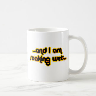 Soaking Wet Sunglow Coffee Mug