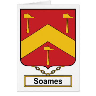 Soames Family Crest Card