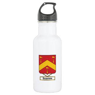 Soames Family Crest Water Bottle