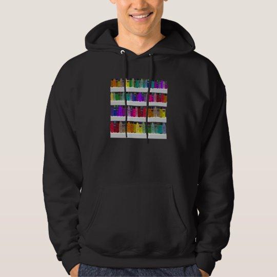 Soap Bottle Rainbow - for bathrooms, salons etc Hoodie
