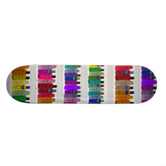 Soap Bottle Rainbow - for bathrooms, salons etc Skateboard Deck
