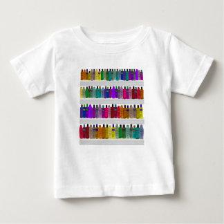Soap Bottle Rainbow - for bathrooms, salons etc T-shirt