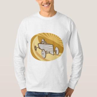 Soap Box Car Mens Long Sleeve T-Shirt
