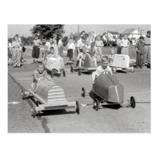 Soap Box Derby, 1940 Post Card
